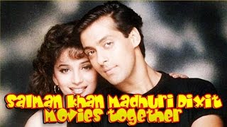 Salman Khan Madhuri Dixit Movies together : Bollywood Films List  🎥 🎬