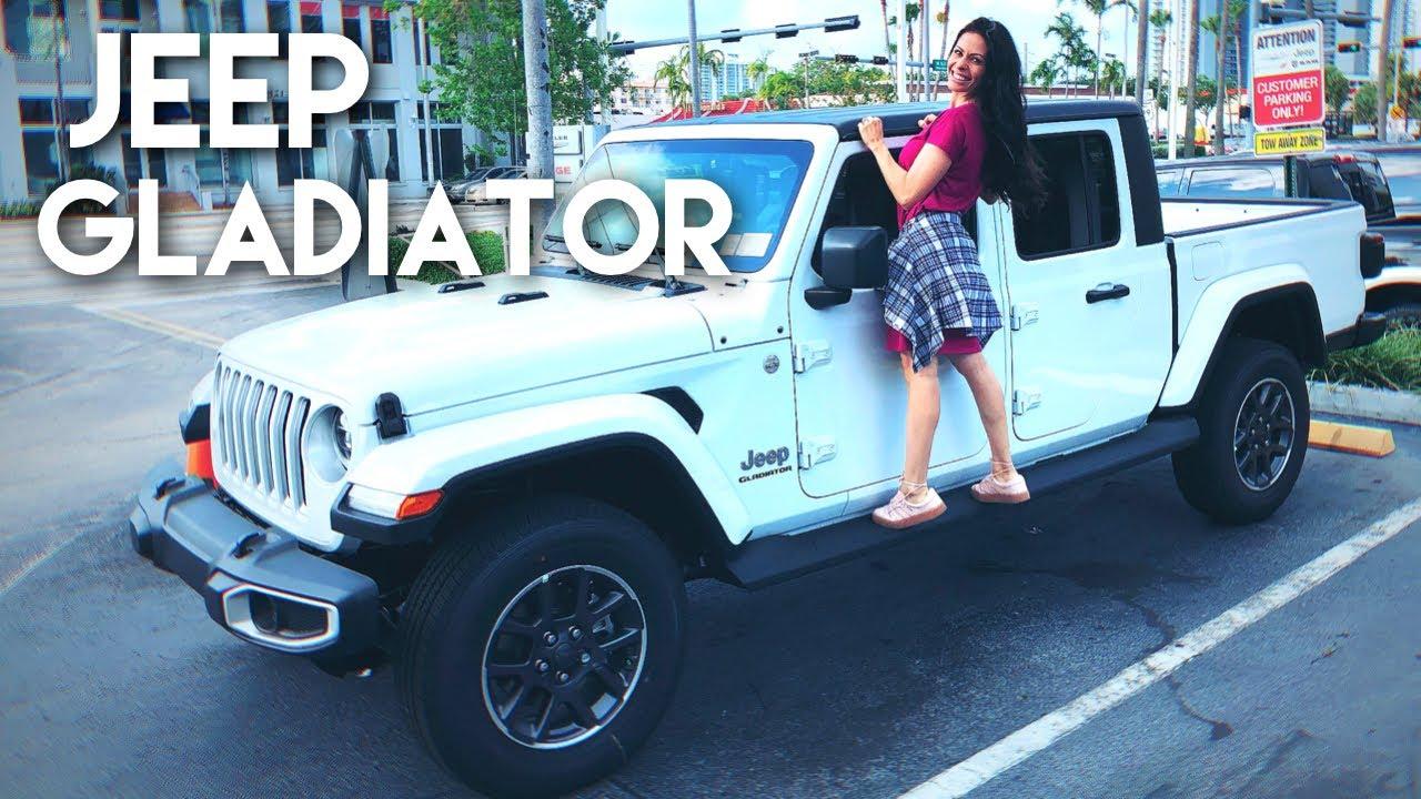 Conheca A Nova Picape Jeep Gladiator 2020 Vendida Nos Eua Youtube