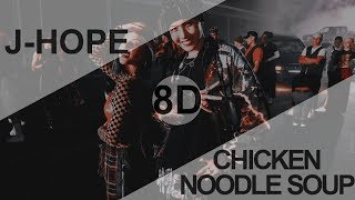 BTS J-HOPE - CHICKEN NOODLE SOUP (feat. BECKY G) [8D USE HEADPHONE] 🎧