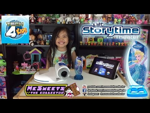 Storytime Theater Disney Frozen Tech 4 Kids Review Youtube