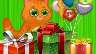 Котик Bubbu #6 – игровой мультик для детей Котик заболел лечим! My Virtual cat Bob Bubbu.