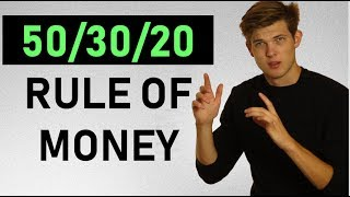 How To Manage Your Money: The 50/30/20 Rule