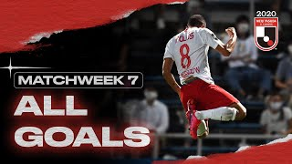 All J1 League Goals | Matchweek 7 | 2020 | J.LEAGUE