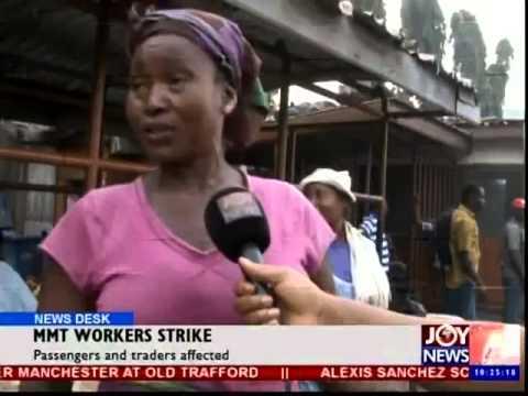 MMT Workers Begin Nationwide Strike - News Desk  (12-01-15)