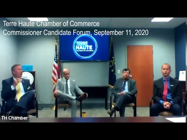 Terre Haute Chamber of Commerce, Commissioners' Forum, September 11th, 2020