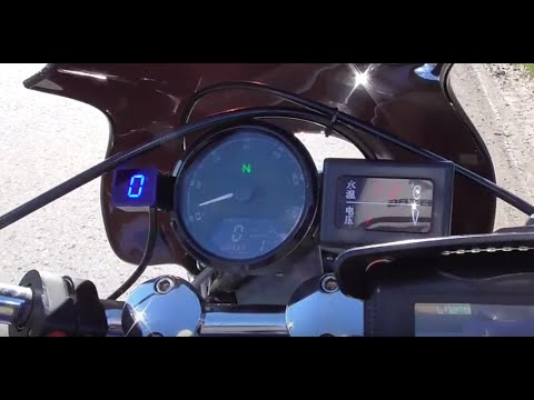 Доработки мотоцикла Honda Steed. Датчик топлива, приборная панель, датчик передач и т.д.