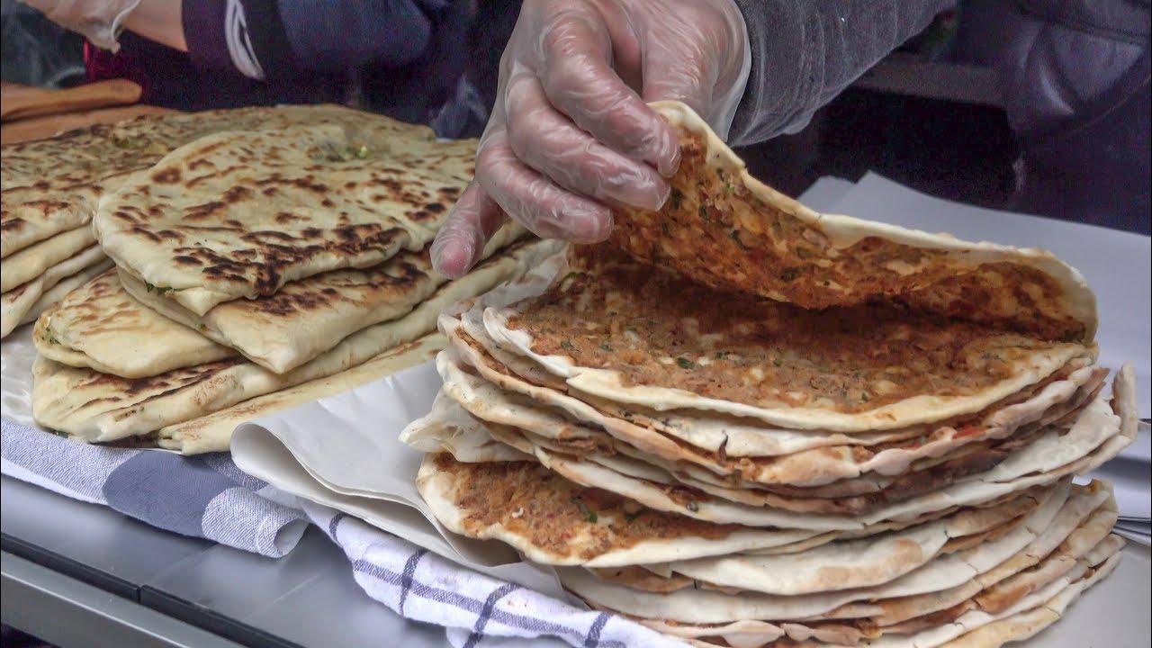Turkish Food, Gozleme, Lahmacun and More. London Street Food
