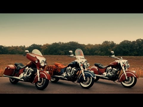 Indian Chief Classic,Chief Vintage,Chieftain promotional Video