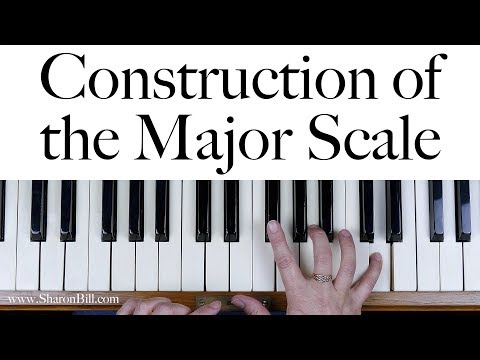 The Construction of the Major Scale: A Beginners Music Theory Lesson