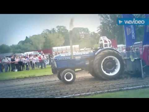 Tractor Pulling at the West Midlands showground