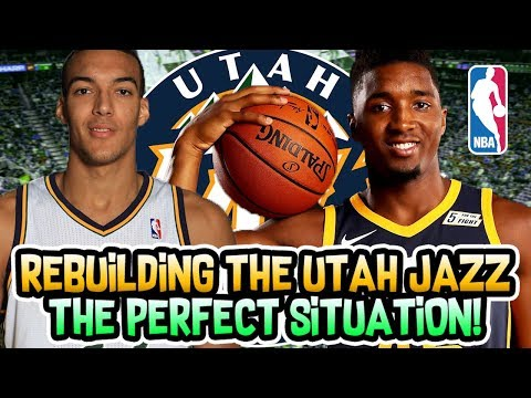 REBUILDING THE UTAH JAZZ! THIS TEAM IS PERFECT! NBA 2K18 MYLEAGUE