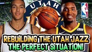 REBUILDING THE UTAH JAZZ! THIS TEAM IS PERFECT! NBA 2K18 MYLEAGUE
