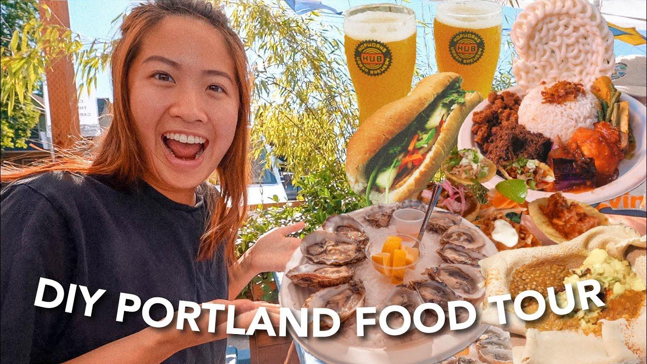 Download BEST EATS IN PORTLAND, OREGON | DIY FOOD TOUR WITH AMAZING HOSTS