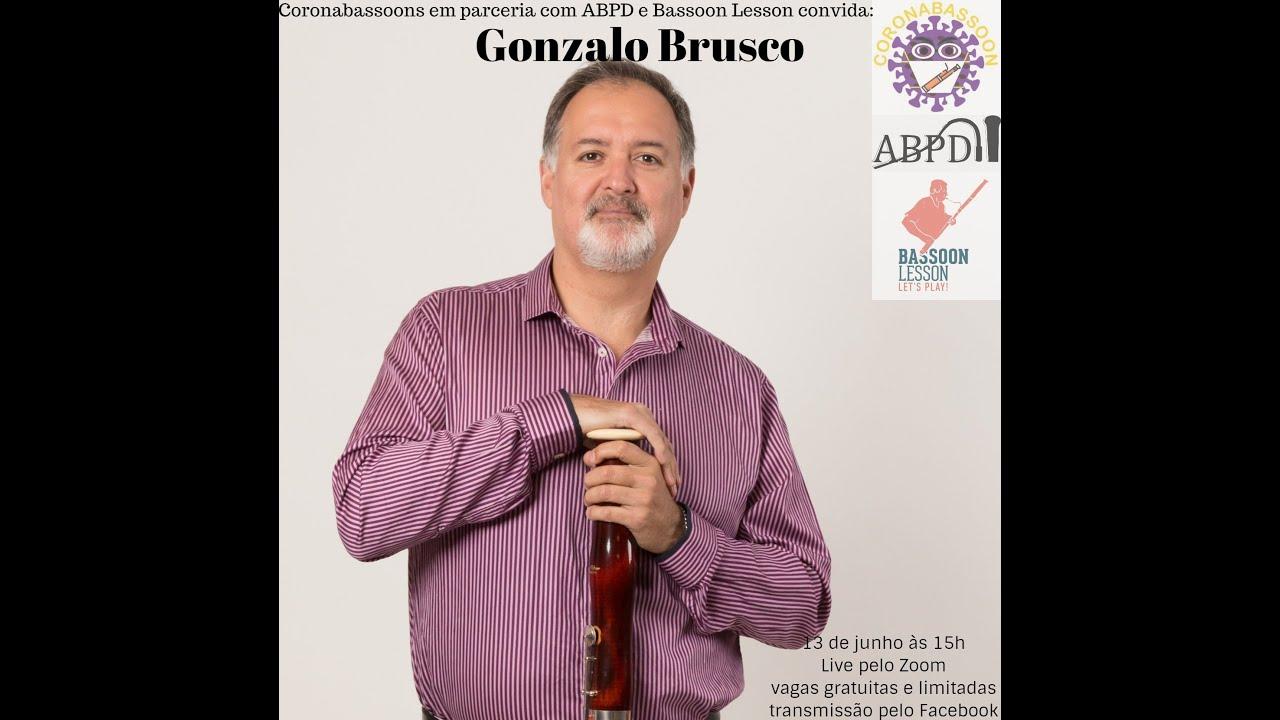 Live com o professor Gonzalo Brusco