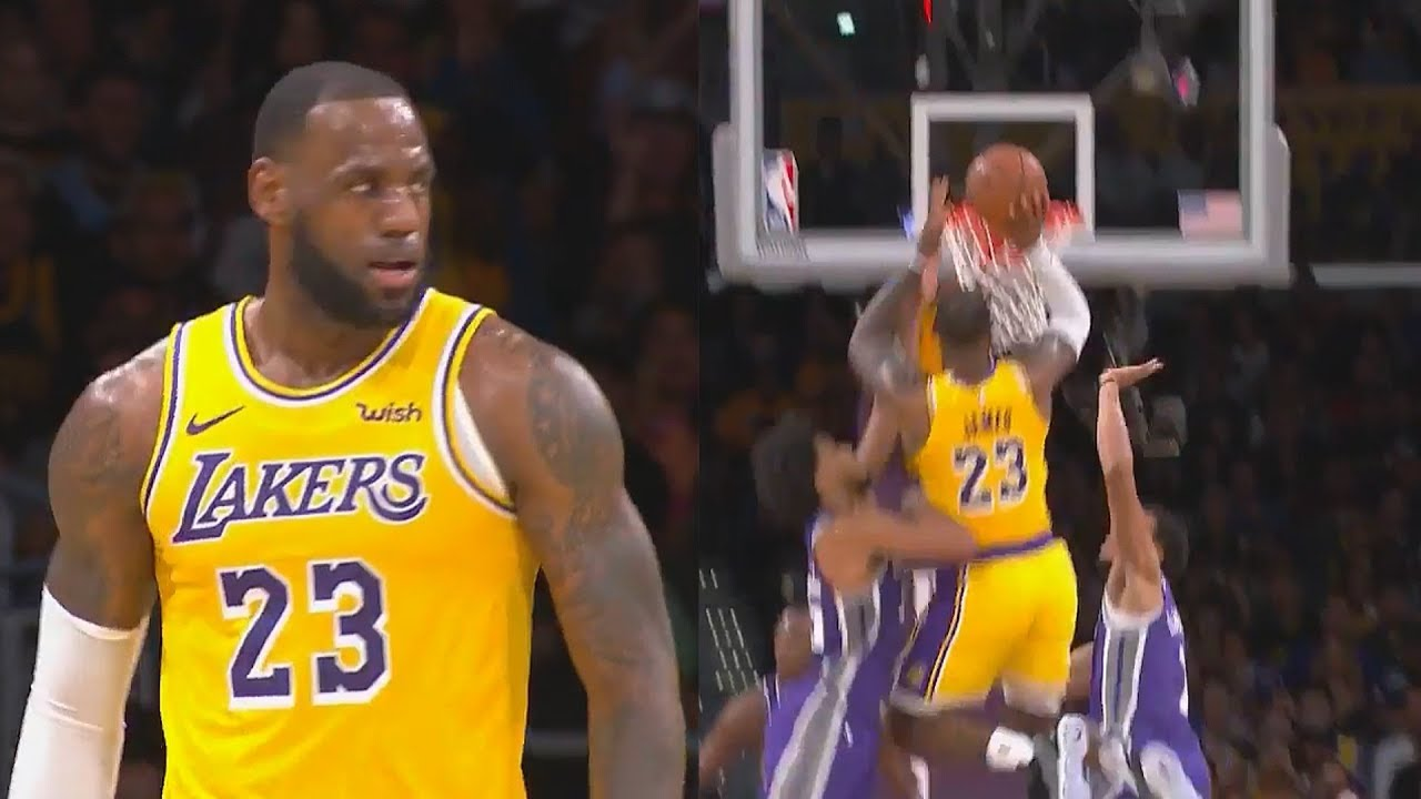f40a5de7a LeBron James Shocking Lakers and Bringing Showtime Back To Los Angeles!  Lakers vs Kings