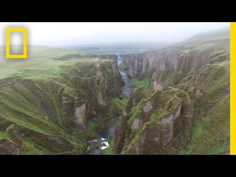 Drone POV: Soaring Over Iceland's Rugged Landscape | Short Film Showcase