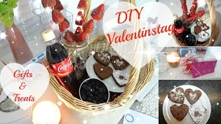 DIY VALENTINSTAG | Gifts & Treats ♡ + OUTTAKES!