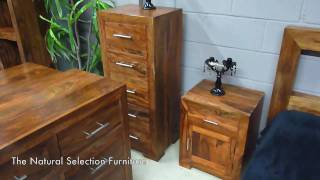 Indian Sheesham Cube Bedroom Furniture From Www.tnsfurniture.co.uk