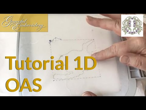 Tutorial 1d Outline alignment stitches
