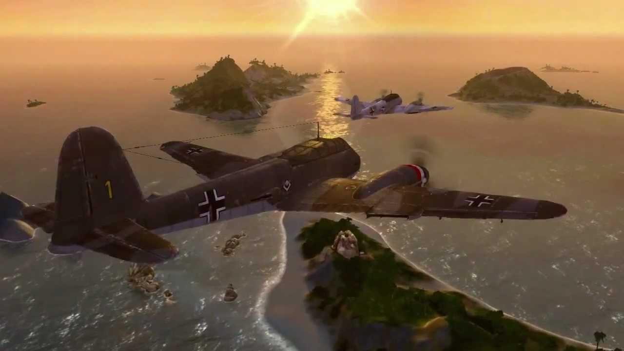 Видео World of Warplanes Heavy Fighters Gameplay Trailer HD