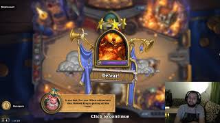 """Hearthstone: Dungeon Run - YOU HAVE made a """"Wish"""" TOO SOON, EXECUTUS!"""