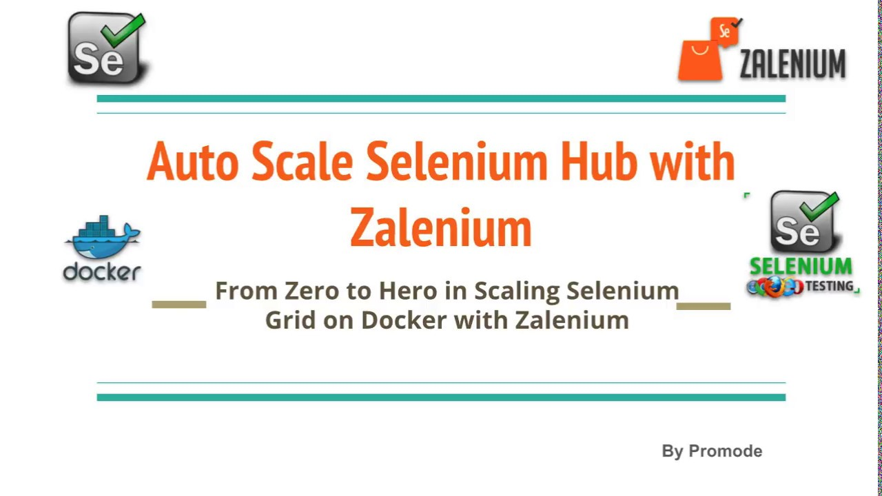 Auto Scale Selenium Hub with Zalenium