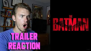 The Batman (2021) - DC FANDOME - TRAILER REACTION