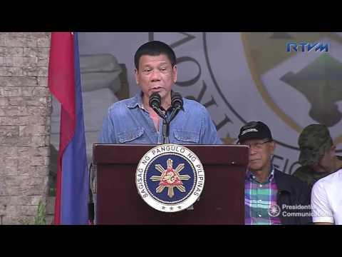 Ceremonial Distribution of Relief Goods - Pili, Camarines Sur (Speech) 12/27/2016