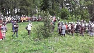 Bitwa numer 1 Gród Birów-Polana Ogrodzieniec 2009 POLAND