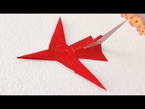 Origami Paper art, Paper work, Craft work, How to make easy paper aeroplane