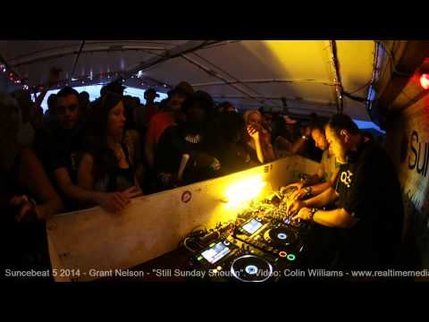 "Suncebeat 5 - Grant Nelson 2 - ""How to party, lesson 1""... Video: Colin Williams"