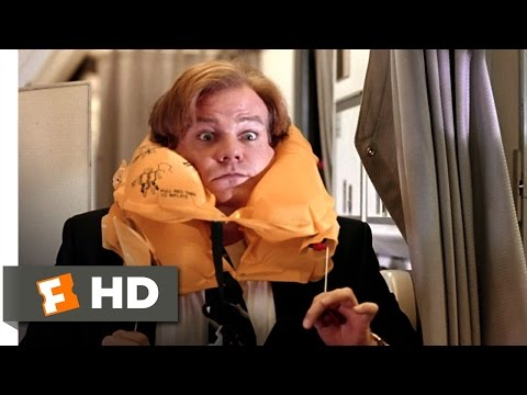 Tommy Boy (9/10) Movie CLIP - Airline Safety (1995) HD