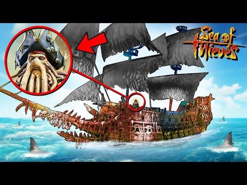 НАШЛИ КОРАБЛЬ ДЕЙВИ ДЖОНСА! БИТВА НА ЛЕТУЧЕМ ГОЛЛАНДЦЕ! 4 ГЛАВА В SEA OF THIEVES
