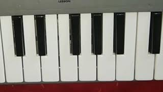 Suraj Chand Sitare prayer on keyboard by Aditee Prajapati