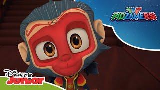 🐵 Niesforna małpa   Pidżamersi   Disney Junior Polska
