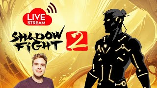 Shadow Fight 2 Live Stream. Grinding Quests and Story. First SF2 Stream Ever!