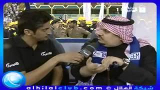 تصريح الأمير بندر بن محمد والأمير عبدالرحمن بن مساعد بعد الفوز بكأس ولي العهد