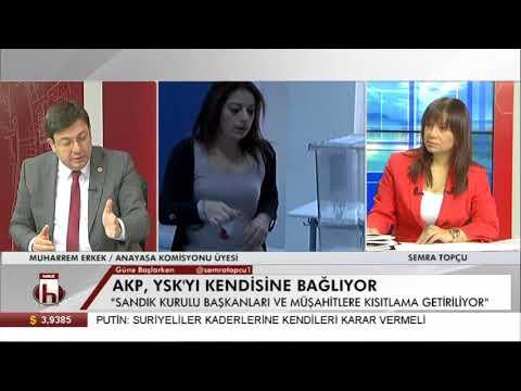 AKP'nin YSK düzenlemesi Muharrem Erkek