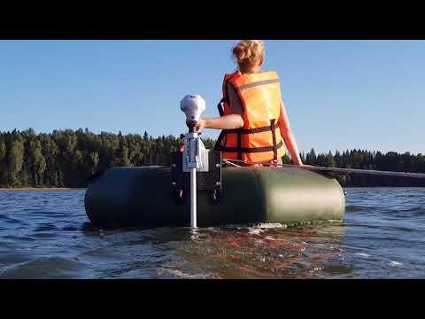 Электромотор для ПВХ лодки. Тест электромотора Watersnake