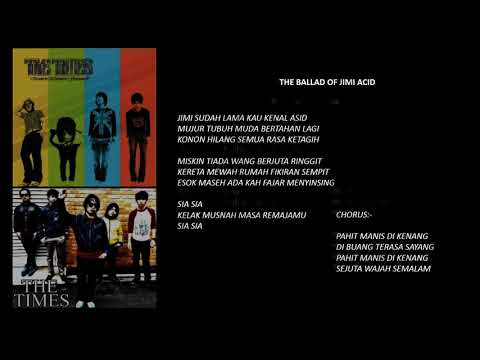 Malaysia Indie Band | The Times | Full Album with Lyrics