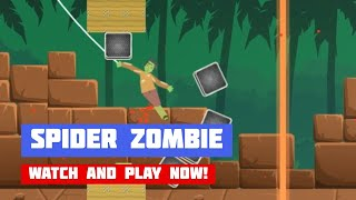 Spider Zombie · Game · Gameplay