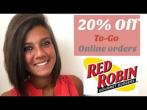 red-robin:-20%-off-online-togo-orders!