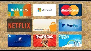 How To Get Free Codes Roblox Xbox PSN Amazon Google Play Spotify iTune PayPal 2018