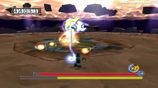 Rayman 3: Hoodlum Havoc PC - The Tower Of Leptys 2/2