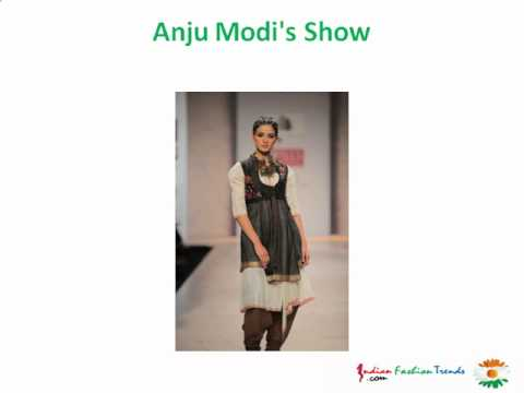 Complete Collection of Wills India Fashion Week Autumn Winter 2012 Day - 1 (WIFW AW 12)