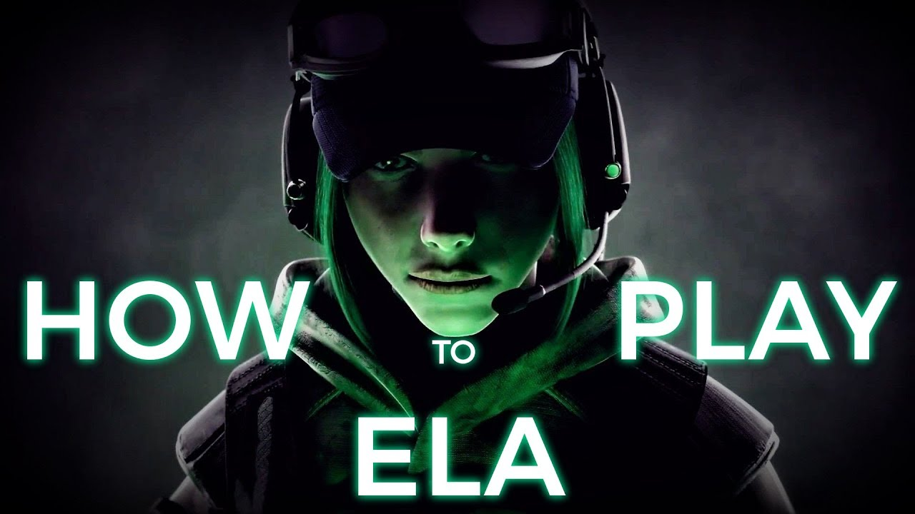 Ela rainbow six siege