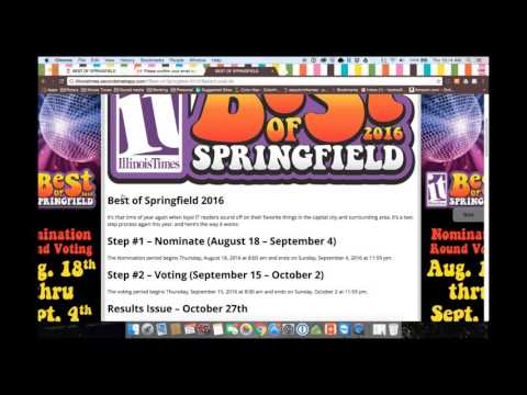 Best of Springfield 2016 - How to nominate your favs