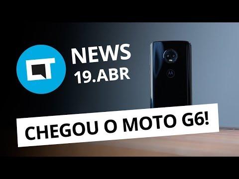 Moto G6 chega por até R$ 1.599; Microsoft sem estoque do Windows Phone e + [CT News]