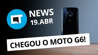 Moto G6 chega por até R$ 1.599; Microsoft sem estoque do Windows Phone e + [CT News]