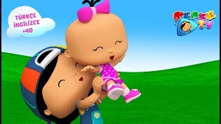 Pepee - Büyümeyi Seviyor - Bebee Kalbim Kırıldı - 2 Bölüm Bir Arada YENİ - Çocuk Şarkıları | Düşyeri